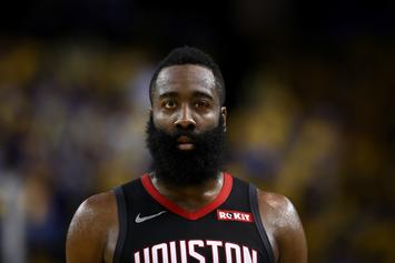 James Harden Shows Off Silky Smooth One-Legged Jump Shot: Watch