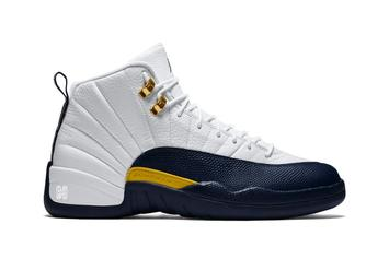 "Air Jordan 12 ""Michigan"" Slated To Launch This Holiday Season"