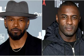 """Jamie Foxx Says He Talked Idris Elba Out Of Lead Role In """"Django Unchained"""""""