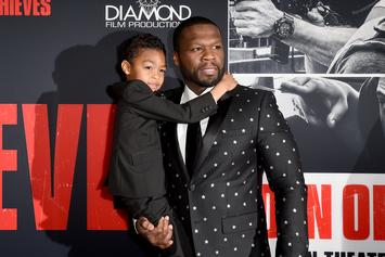 50 Cent & His Baby Mama Share Adorable Snaps With Their Son
