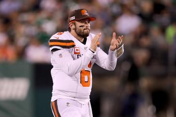 Baker Mayfield Clowns Gregg Williams For Suspect OBJ Remarks: Watch