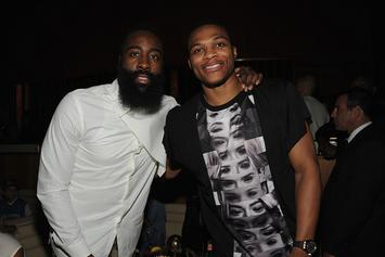 "James Harden Praises Russell Westbrook: ""That's A Killer, For Real"""