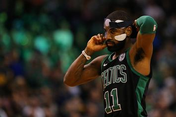 Kyrie Irving Suffered Facial Facture During Recent Workout: Report