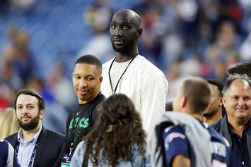 Celtics' Rookie Tacko Fall Takes First Swimming Lesson: Watch