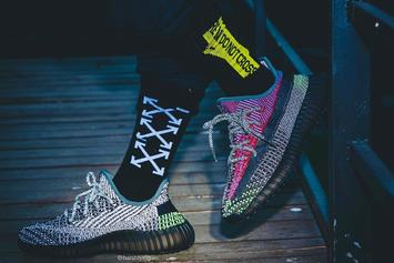 """Adidas Yeezy Boost 350 V2 """"Yecheil Reflective"""" Coming Soon: On-Foot Photos"""