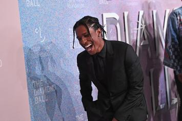 A$AP Rocky Doesn't Have Eyes In Back Of His Head; He Has Them On His Nails