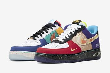 """Nike Air Force 1 Low """"What The L.A."""" Release Details Revealed"""