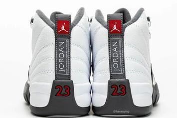 "Air Jordan 12 ""Dark Grey"" Coming This Winter: Best Look Yet"