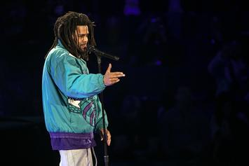 J. Cole Honored By Hornets With Kemba Walker's Old Jersey No.: Watch