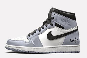 "Air Jordan 1 High OG ""Silver Patent Leather"" Rumored For 2020: Details"