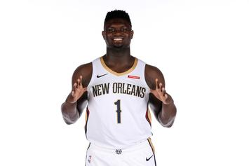 Zion Williamson Catches Multiple Bodies In Pelicans Debut: Watch