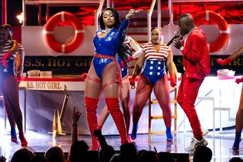 "Megan Thee Stallion & DaBaby Boss Up On ""Cash Sh*t"" At 2019 BET Hip Hop Awards"