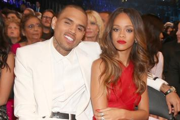 Chris Brown Is Selling Lamps With His Face After Thirsting Over Rihanna's IG Pic