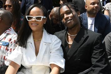 Rihanna Spotted Backstage With A$AP Rocky Following His Rolling Loud Set