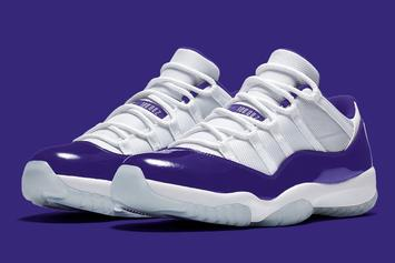 Lakers-Friendly Air Jordan 11 Low Coming Soon: First Look