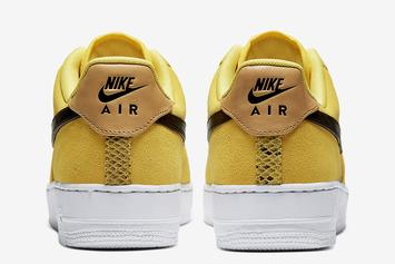 """Nike Air Force 1 Low """"Yellow Snakeskin"""" Revealed: Official Images"""