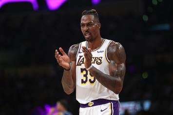 Dwight Howard Roasted For Seemingly Putting Finger Up George Niang's Butt