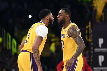 LeBron James Comments On Anthony Davis' Insane 40-20 Performance