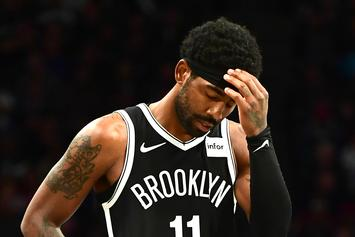 """Kyrie Irving Defended By Nets Head Coach Following """"Mood Swings"""" Report"""