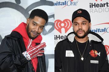 """The Weeknd's Premieres Kid Cudi Remix Of His Song """"Privilege"""" On Memento Mori"""