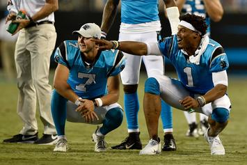 Panthers QB Kyle Allen Reacts To Cam Newton's Season-Ending Injury