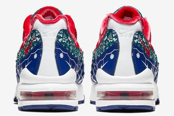 Nike Air Max 95 Receives Festive Christmas Spirit Makeover: Details