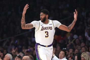 Lakers' Anthony Davis Hints That He's Suffering Through Lingering Injury