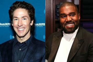 Kanye West Set To Speak At Joel Osteen's Church This Weekend: Report