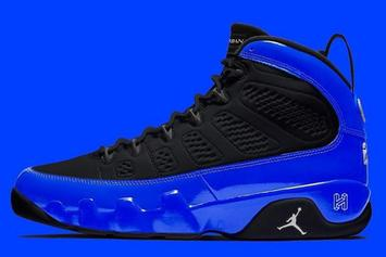 """Air Jordan 9 """"Racer Blue"""" Coming Soon With 3M Details: In-Hand Photos"""