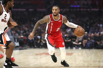 Damian Lillard Reacts To Carmelo Anthony Blazers Signing