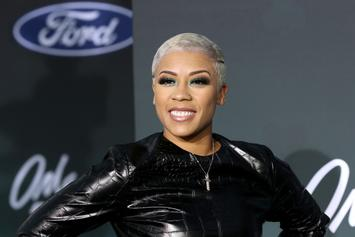 Keyshia Cole Channels Amber Rose With New Blonde Hairstyle