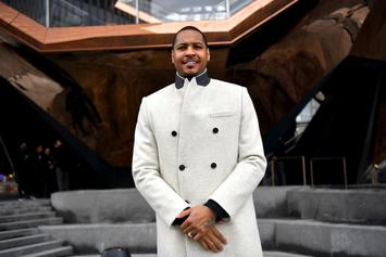 Carmelo Anthony Notches First Bucket With The Blazers, Fans React