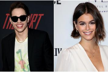 Pete Davidson & Kaia Gerber Share Passionate Kiss While Vacationing In Miami