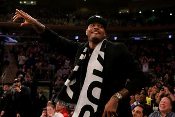 "Carmelo Anthony Dismisses Notion He's On A ""Farewell Tour"""
