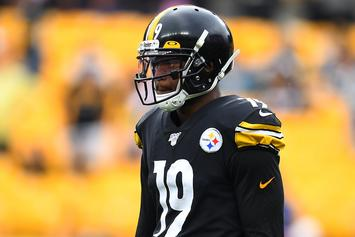 JuJu Smith-Schuster Snitches On Himself With IG Speeding Video