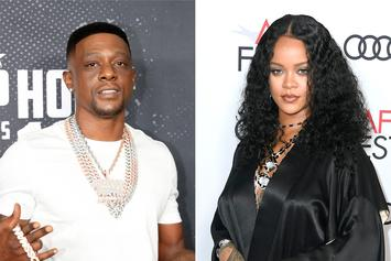 Boosie Badazz Lusts Over Rihanna's Sexy Lingerie Photo