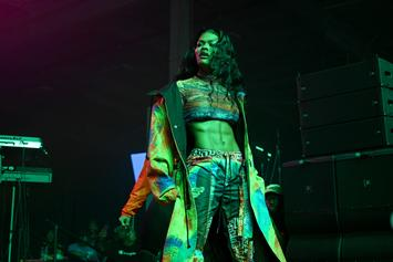 Teyana Taylor Joins Miley's Mullet Trend While Showing Off Abs & Underboob