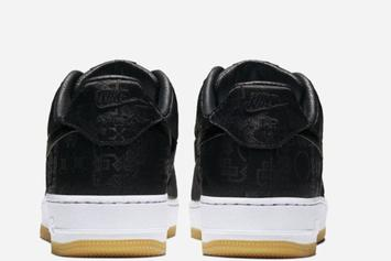 """Clot x Nike Air Force 1 Low """"Black Silk"""" Officially Unveiled: Photos"""