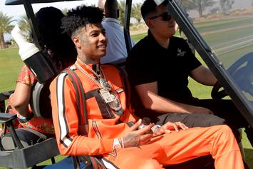 Blueface Walks Out On No Jumper Interview After Nipsey Hussle Question