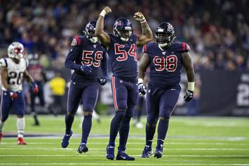Texans Linebackers Show Up To Patriots Game In SWAT Suits: Watch
