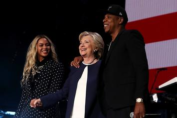 """Jay-Z Granted High Praise From Hillary Clinton On His Birthday: """"An Icon Turns 50"""""""