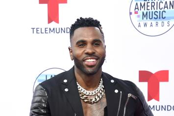 "Jason Derulo ""Might've Had A Semi"" In Removed Instagram Post But Denies Full Arousal"