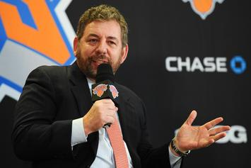 Knicks' James Dolan Appears To Have A Burner Account On Twitter