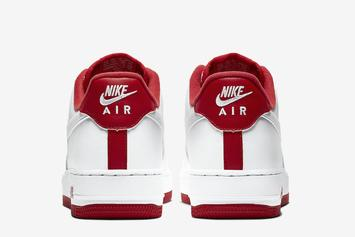 """Nike Air Force 1 Low """"University Red"""" Coming Soon: Official Photos"""