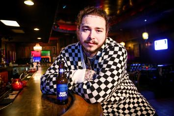 Post Malone Stunts Nail Polish & Hair Jewelry In Personality-Filled Shot