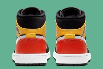 Air Jordan 1 Mid Receives Raygun-Inspired Makeover: Official Images
