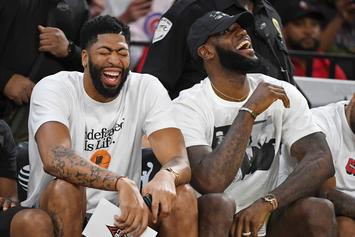 Anthony Davis Hilariously Trolls LeBron James On His Birthday: Watch