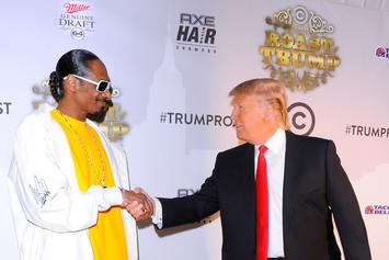 Snoop Dogg Roasts Donald Trump For His Presidential Ambitions In Throwback Clip