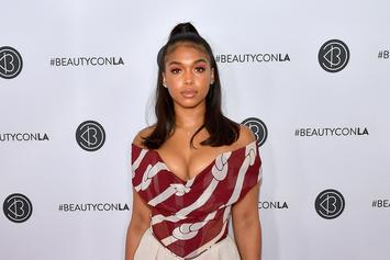 Lori Harvey & Jordyn Woods Could Be Twins Based On This Mirror Selfie Video