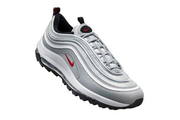 """Nike Air Max 97 """"Silver Bullet"""" Gets Turned Into Golf Shoe: Details"""